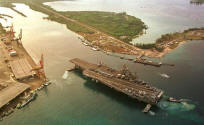 USS KITTY HAWK - Guam USA