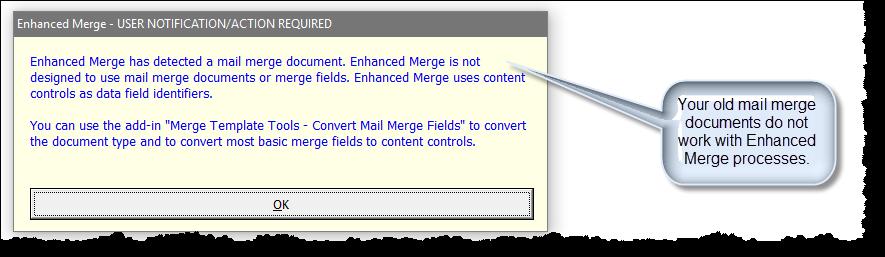 Enhanced Merge (Merge Many to One)