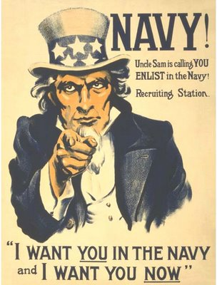 Navy Recruiting Poster - I want you ...