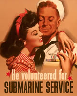 Navy Recruiting Poster - Submaring Service