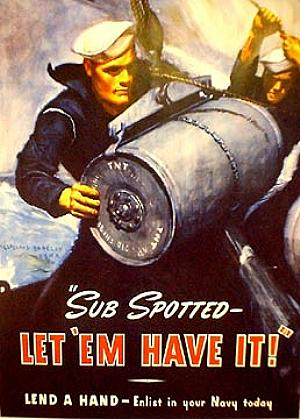 Navy Recruiting Poster - Sub Spotted ...