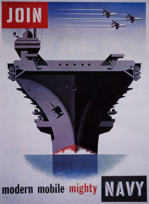 Navy Recruiting Poster - Join