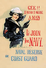 Navy Recruiting Poster - Gee!! I Wish ...