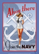Navy Recruiting Poster - Joint the Navy Pin-up 2
