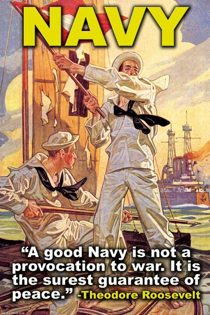 Navy Recruiting Poster - A good Navy ...