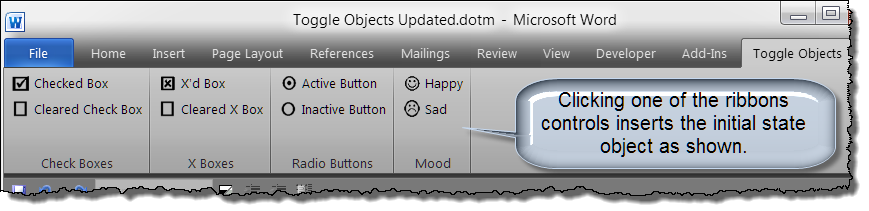 add toggle objects 2