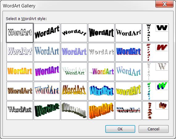 Classic Wordart