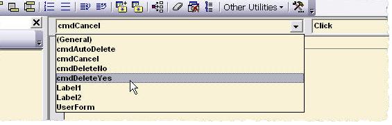Custom VBA Userform Message