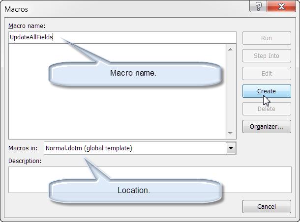 InstallEmploy VBA Procedures Macros – Method of Procedure Template