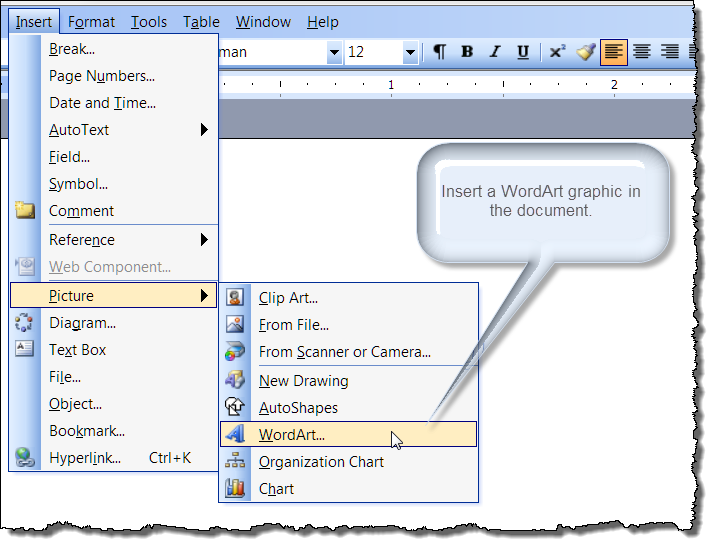 How to write in mirror image on word 2010