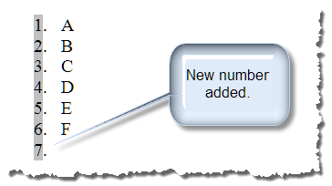 seq field numbering 8