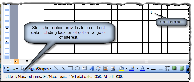 Table cell data add in word 2003 for Html table merge cells
