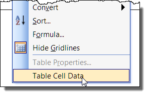 table cell data w2003 9