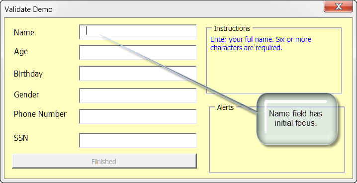 Validate Userform Text Entries